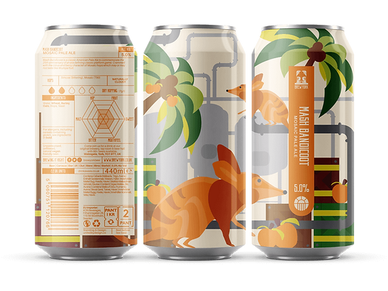 Brew York - Mash Bandicoot. 5%