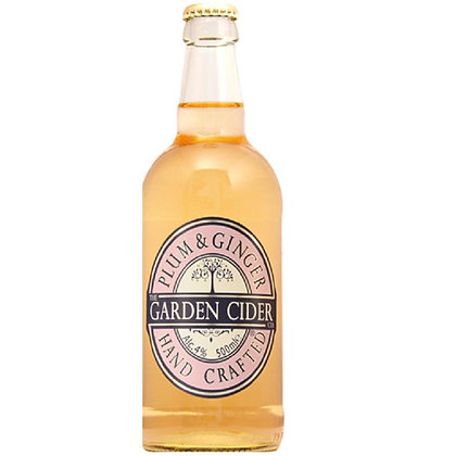 Garden Cider Co - Plum & Ginger 4%