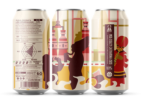 Brew York - Mos Eisley Catharina. 6.5%
