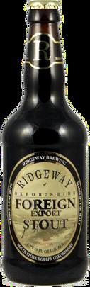 Ridgeway Brewing - Foreign Export Stout. 8%