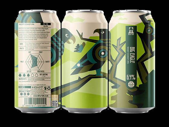 Brew York - Big Eagle. 6.4%