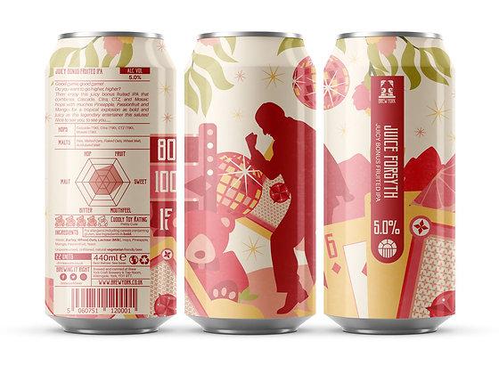 Brew York - Juice Forsyth. 5%