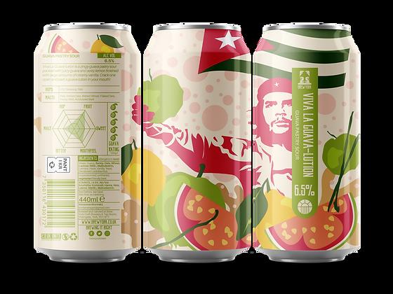 Brew York - Viva La Guava-Lution. 6.5%