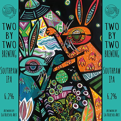 Two by Two Brewing - Southpaw IPA. 6.2%