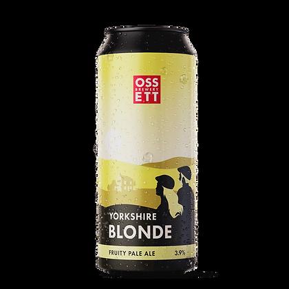 Ossett Brewery - Yorkshire Blonde. 3.9%