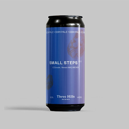Three Hills Brewing - Small Steps. 3% DDH Pale