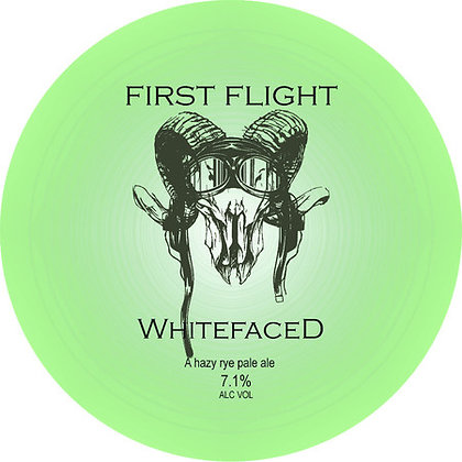 Whitefaced Beer Co. - First Flight. 6%