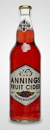 Annings - Crushed Mixed Berry. 4%