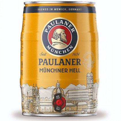 Paulaner Munich Hells Mini Keg. 4.9%