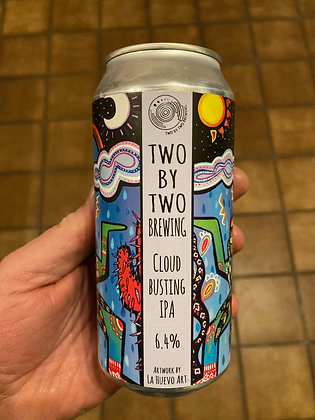 Two by Two Brewing - Cloudbusting. 6.4%
