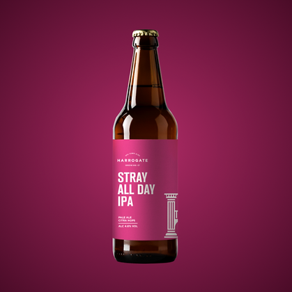 Harrogate Brewing Co. - Stray All Day IPA. 4.6%