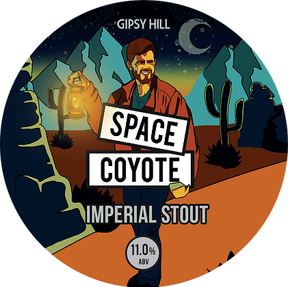 Gipsy Hill - Space Coyote. 11%