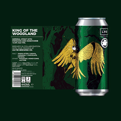 Left Handed Giant - King Of The Woodland. 12.5%