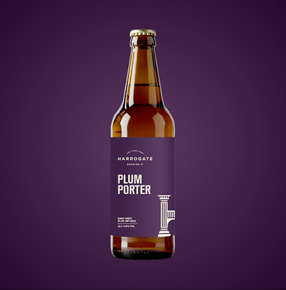 Harrogate Brewing Co. - Plumb Porter. 4.8%