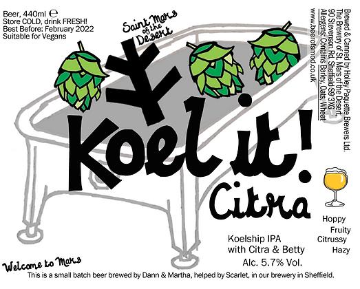 St Mars of the Desert - Koel It Citra. 5.7%