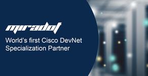 Världens första Cisco DevNet Specialization Partner