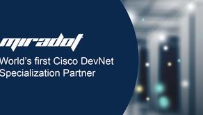 The world's first Cisco DevNet Specialization Partner