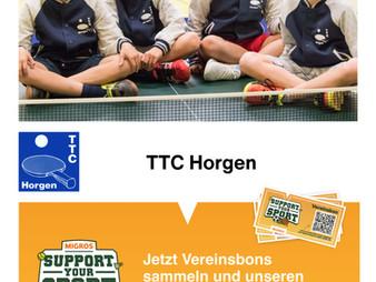 Support your Sport: Jetzt Vereinsbon sammeln und unseren Verein unterstützen!