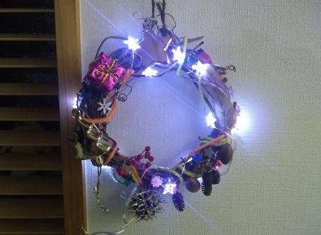 プログラミングでクリスマスイルミネーション