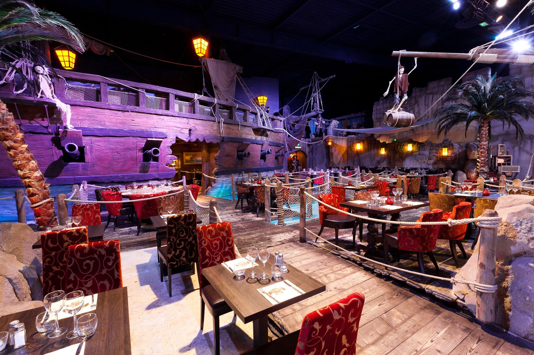 restaurant pirates