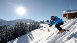 Départ de ski