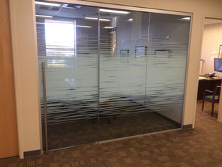 Decorative Window Films. Gradients. Privacy. Branding. Custom Artwork.