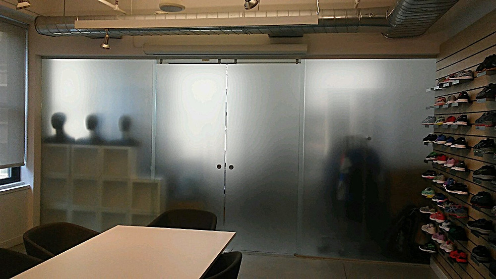 3M Window Film | Dusted Crystal View Control Film | New York, NY | Guardian Bastille