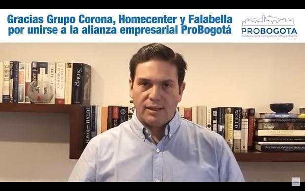 Gracias Corona, Homecenter y Falabella por unirse a la Alianza Empresarial Contra el Coronavirus