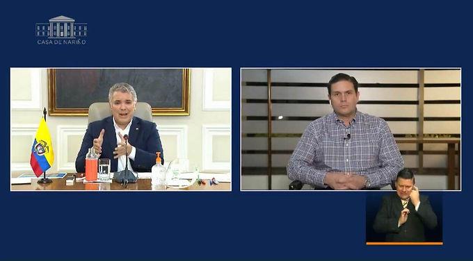 """""""Debemos actuar y estar unidos en esta crisis del COVID-19"""" Juan Carlos Pinzón en el programa televi"""