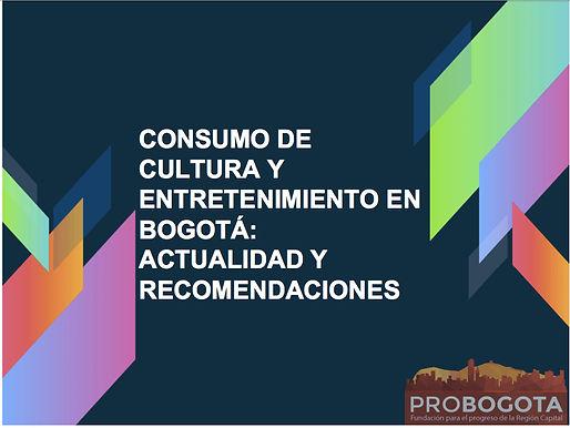 ProBogotá Región presenta propuesta para incentivar el consumo de cultura en la capital