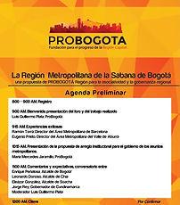 Lanzamiento Región Metropolitana de la Sabana de Bogotá