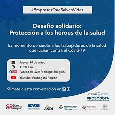 Desafío solidario: protección a los héroes de la salud