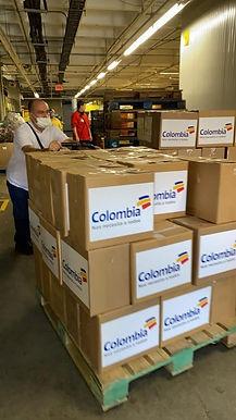 Bancolombia hace donación para la atención alimentaria de familias vulnerables en Bogotá