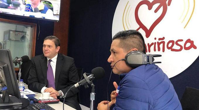 Entrevista de Juan Carlos Pinzón con Pacho Alerta en La Cariñosa de RCN Radio
