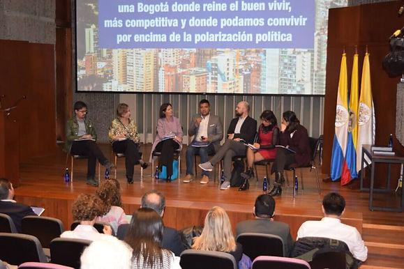 Lanzamiento de Escuchamos a Bogotá