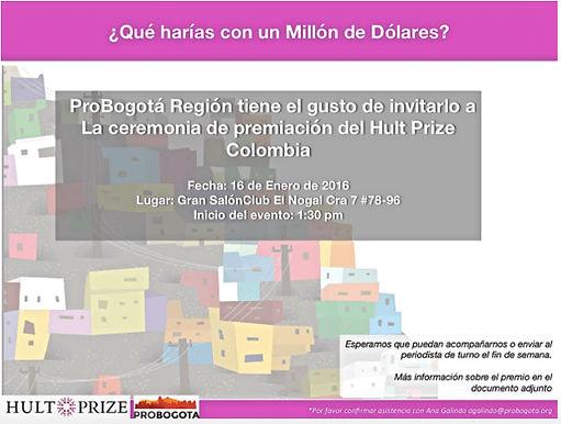 Se premiarán a los mejores emprendedores sociales en Bogotá
