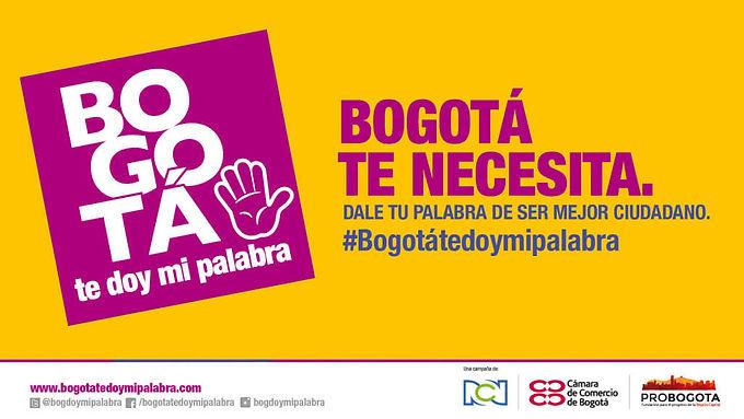 ProBogotá, RCN, y La Cámara de Comercio de Bogotá lanzan campaña de cultura ciudadana