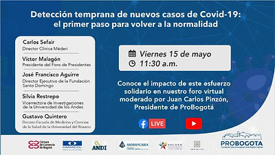 Detección temprana de los nuevos casos de COVID