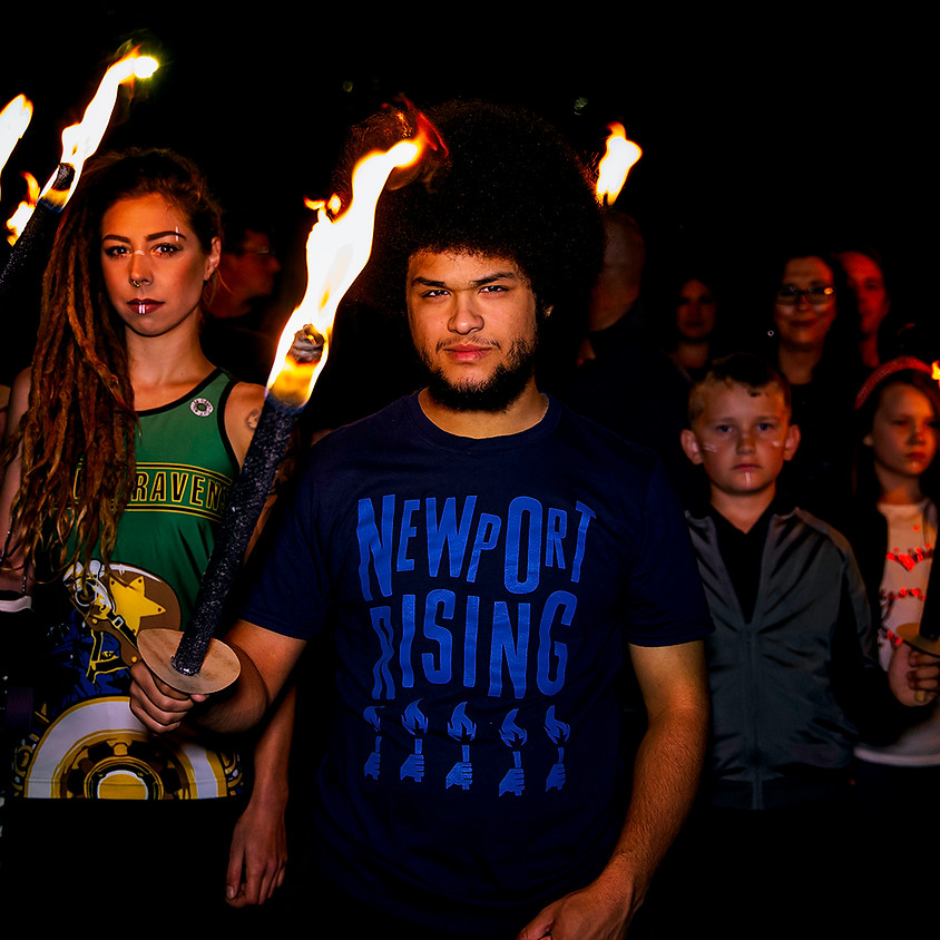 Torch lit march in the footsteps of the Chartists - 180th Anniversary