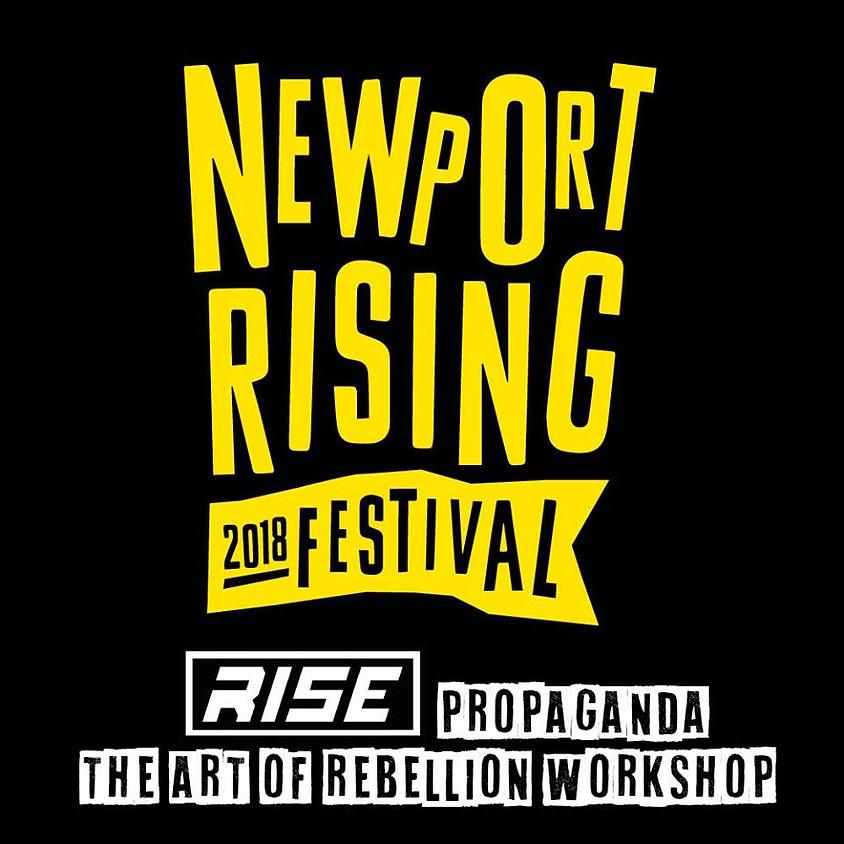 The Art of Rebellion - Public Street art/banner making workshop