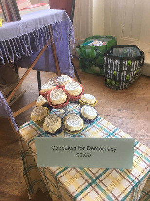 Cupcakes for democracy