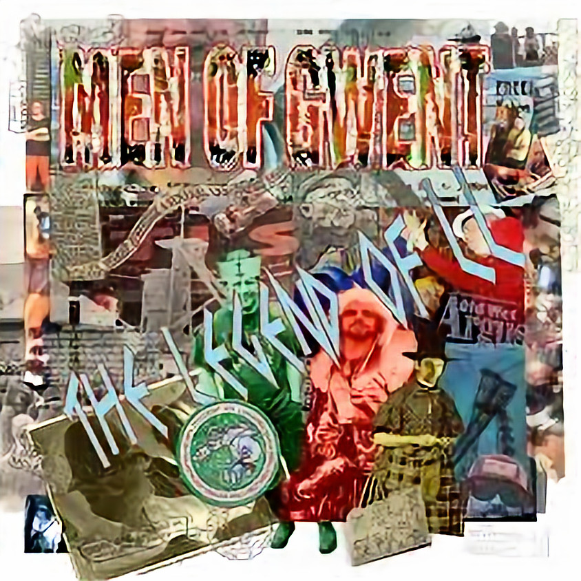 Jon Langford's Men of Gwent and support at Le Pub