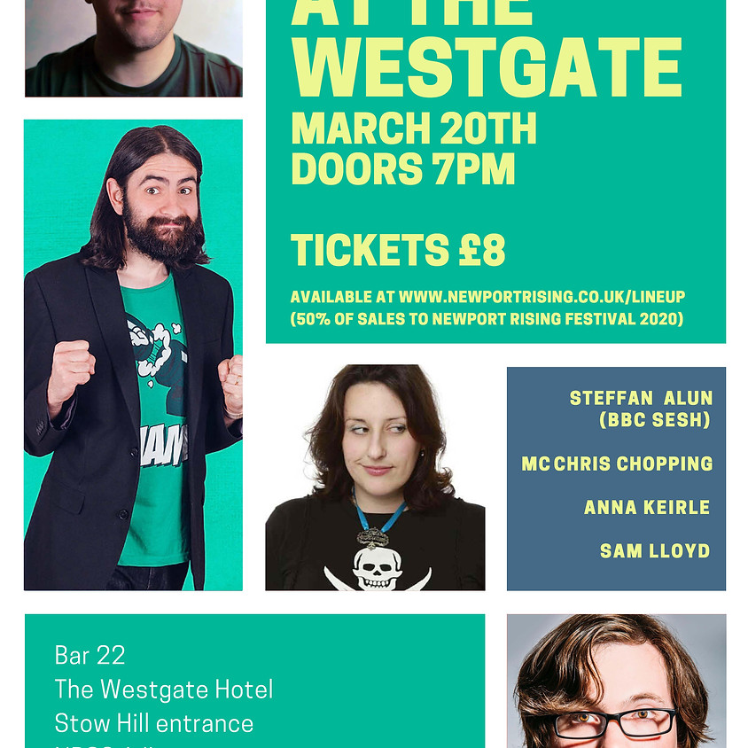 Postponed - Comedy at the Westgate