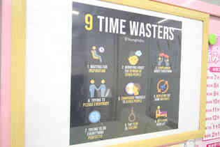 9 TIME WASTERS