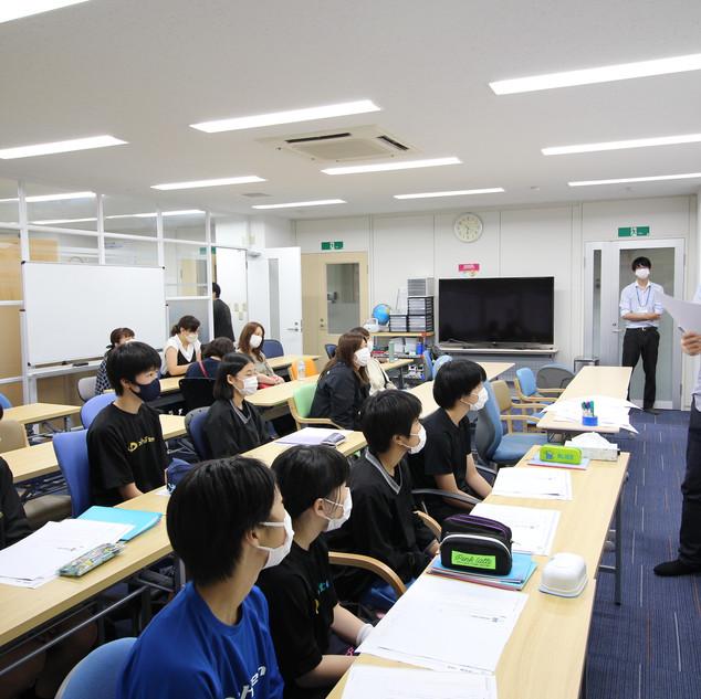 講師三浦先生の授業風景1