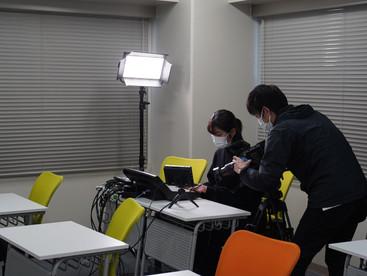 当塾を紹介するプロモーションビデオ製作中!