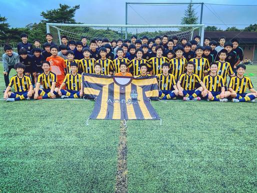AOBA FCのTOPの画像を変更しました。
