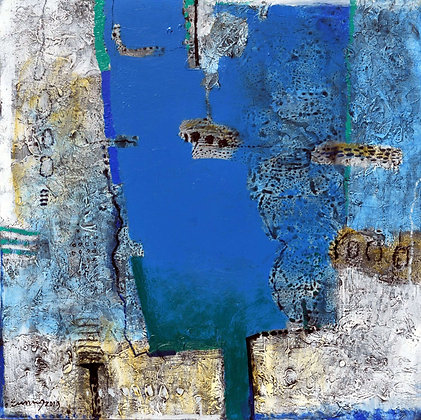Composition with Blue