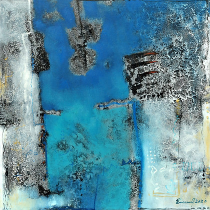 Composition With Blue 2