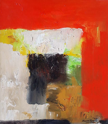 Red, Black ,Yellow Composition